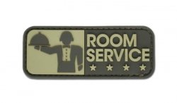 MIL-SPEC MONKEY - Morale Patch - Room Service - PVC - Desert