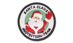 JTG - Naszywka 3D - Santa Claus Protection Team - Kolor