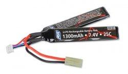 ASG - Akumulator LiPo 7,4V 1300mAh 25C [1+1] - 17206