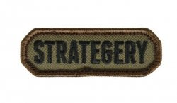 MIL-SPEC MONKEY - Morale Patch - Strategery - Forest