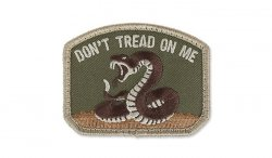 MIL-SPEC MONKEY - Morale Patch - Don't Tread - Multicam