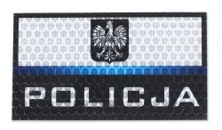 Combat-ID - Naszywka Polska Policja - Duża - Gen I