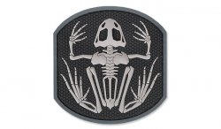 MIL-SPEC MONKEY - Morale Patch - Frog Skeleton - PVC - SWAT