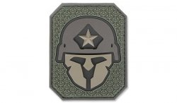 MIL-SPEC MONKEY - Morale Patch - Modern Spartan Large - PVC - Forest