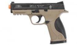 Cybergun - Smith & Wesson M&P40 - Tan - Sprężynowy - 320135