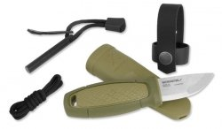 Morakniv - Eldris Fire Starter Neck Knife Kit - Zielony - 12633