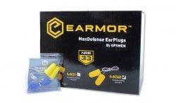 Earmor - Zatyczki do uszu MaxDefense - M02 - BOX 100 szt.