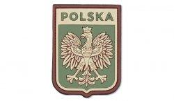 101 Inc. - Naszywka 3D Polska herb - Multicamo - 444130-7055