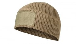 Helikon - Czapka Range Beanie Grid Fleece - Coyote Brown - CZ-RBN-FG-1
