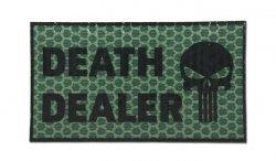 Combat-ID - Naszywka Death Dealer - Zielony - Prawa - Gen I