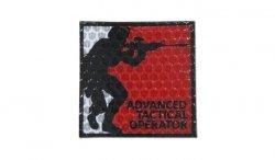 Combat-ID - Naszywka Tactical Operator - Czerwony - Gen I