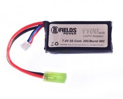 Akumulator Li-Po 1100mAh 7,4V 20/40C [8FIELDS]