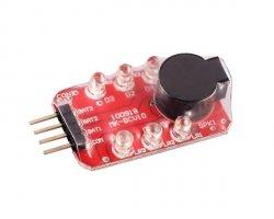 Alarm zabezpieczający akumulatory LiPo [8FIELDS]