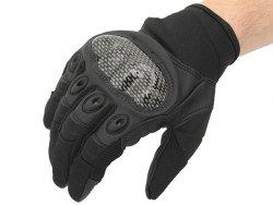 Military Combat Gloves mod. IV (Size XL) - Black [8FIELDS]