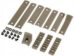 Zestaw paneli ochronnych do łoża przedniego typu URX3 - Tan [BD]