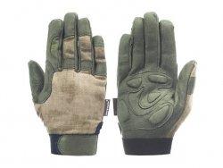 Lekkie rękawice taktyczne w kamuflażu (Rozmiar M) - ATAK-FG [EM]