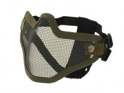 Stalowa maska ochronna V.1 - Olive [CS]