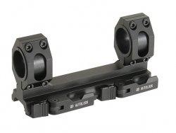 Jednoczęściowy montaż QD pod lunetę o tubusie 25-30mm - Black [Aim-O]