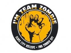 Naszywka Team Zombie PVC - Yellow [EM]