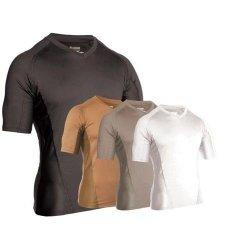 BlackHawk - Koszulka Engineered Fit V-Neck - black