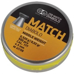 JSB - Śrut Yellow Match Middle Weight 4,51mm 500szt.