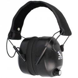 RealHunter - Ochronniki słuchu aktywne - Black (258-012)