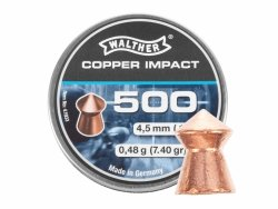 Walther - Śrut Cooper Impact 4,5mm 500szt.