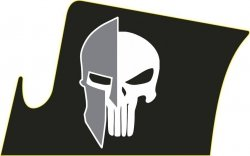 Naklejka - STICKERS MILITARY - Spartan