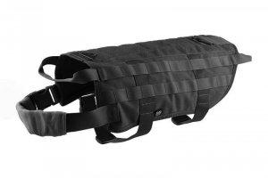 Taktyczna kamizelka dla psa - czarna