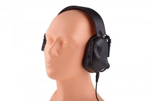 Earmor - Aktywne ochronniki słuchu M31 - czarne
