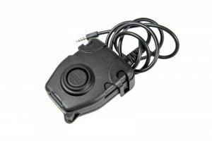 Przycisk PTT zPeltor - 3,5mm mobile phone