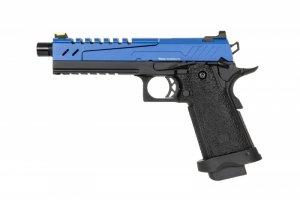 Replika pistoletu Hi-capa 5.1 Split Slide - niebieska / czarna
