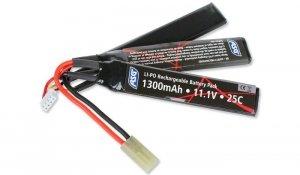 ASG - Akumulator LiPo 11,1V 1300mAh 25C - 17207