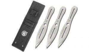 Smith & Wesson - Noże do rzucania Bullseye 10'' - 3 szt. - SWTK10CP