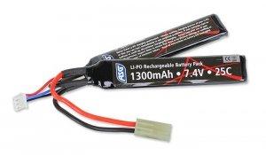 ASG - Akumulator LiPo 7,4V 1300mAh 25C - 17206