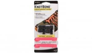 Nite Ize - KnotBone Stretch LaceLock System - Różowy - KBLL-35-2R7
