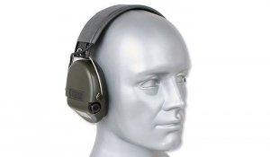 MSA - Aktywne ochronniki słuchu Supreme Basic - Zielony - 75300