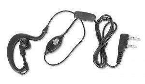 BaoFeng - Mikrofonosłuchawka PTT - Wtyk Kenwood