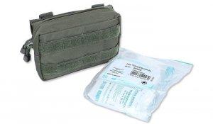 Mil-Tec - Apteczka mała 25-piece First Aid Set - Zielony OD - 16025301