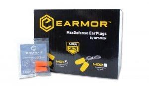Earmor - Zatyczki do uszu MaxDefense - M01 - BOX 100 szt.