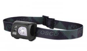 FOSCO - Latarka czoowa Tactical Headlamp 140lm - Czarna