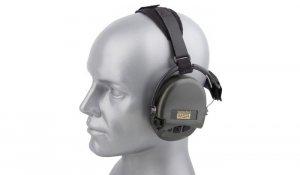 Sordin - Aktywne nakarkowe ochronniki słuchu Supreme Pro-X -Zielony OD