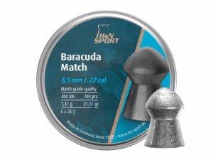 H&N - Śrut diabolo Baracuda Match 5,51mm 200szt.