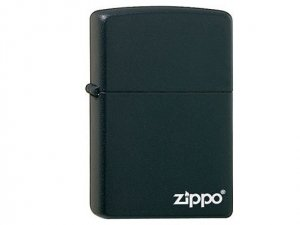 Zippo - Zapalniczka czarna 60.001.404