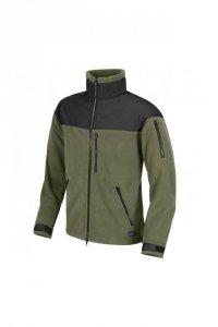 Helikon - Polar Classic Army Fleece Jacket - Oliwkowo-Czarny