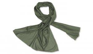 Mil-Tec - Szal / chusta maskująca z siatki - Zielony OD - 12627001