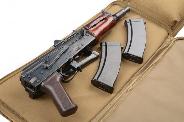 Pokrowiec na broń 84cm - coyote