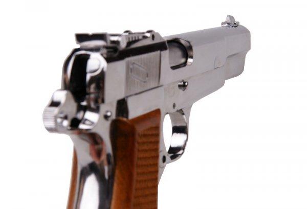 WE - Replika Browning M1935 - Silver