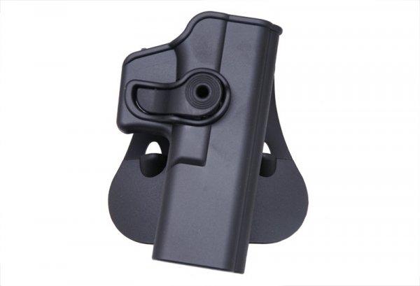 Kabura polimerowa do Glocka 17 - Czarna