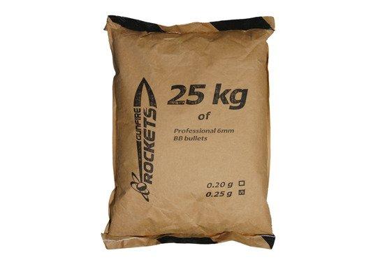 Rockets - Kulki 0,25g 25kg